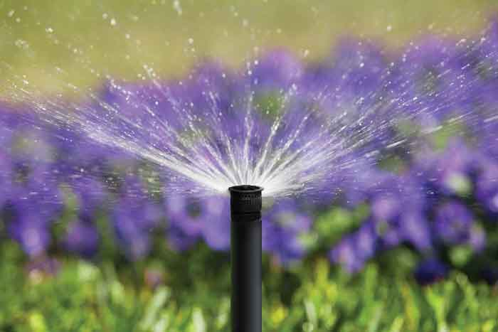 Irrigation lighting waterscaping systems industrial - Exterior water service line coverage ...