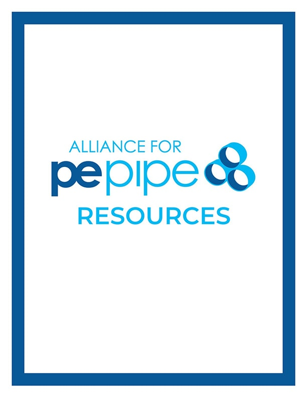 ALLIANCE FOR PE PIPE